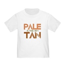 PALE IS THE NEW TAN SHIRT T-S T