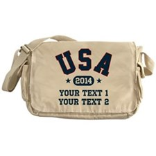 PERSONALIZE Team USA 2014 Messenger Bag