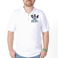 PERSONALIZE Team USA 2014 T-Shirt