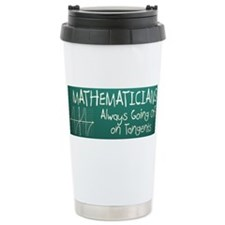 Unique Mathematician Stainless Steel Travel Mug