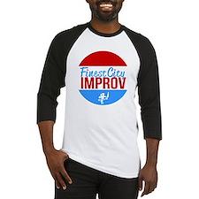 Finest City Improv Logo T Baseball Jersey
