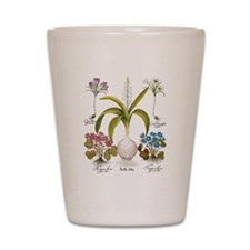 Vintage Flowers by Basilius Besler Shot Glass