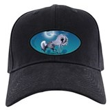 Appaloosa Horse by Moonlight Baseball Hat