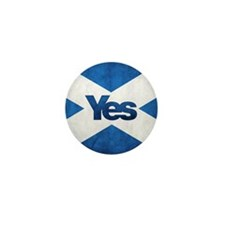 Yes Scotland flag Mini Button (10 pack)