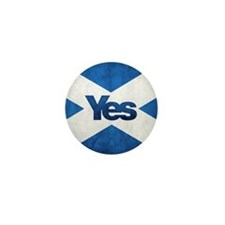 Yes Scotland flag Mini Button