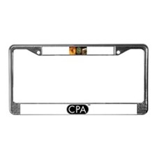Funny Coin License Plate Frame