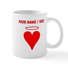 Custom Red Heart Angel Mugs