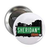 "Sheridan Av, Bronx, NYC  2.25"" Button (10 pack)"