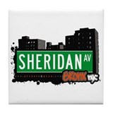 Sheridan Av, Bronx, NYC  Tile Coaster