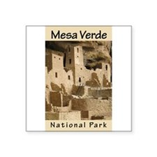 Mesa Verde NP (Vertical) Rectangle Sticker