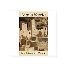 Mesa Verde NP (Vertical) Rectangle Sticker
