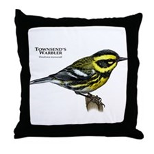 Townsend's Warbler Throw Pillow