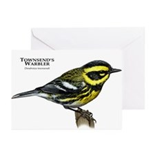 Townsend's Warbler Greeting Cards (Pk of 20)