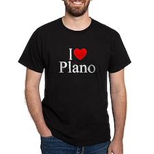 """I Love Plano"" T-Shirt"