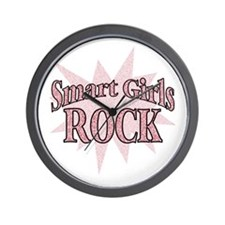 Smart Girls Rock Wall Clock