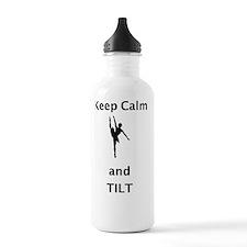 keep calm and tilt Water Bottle