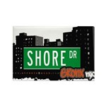 Shore Dr, Bronx, NYC Rectangle Magnet