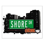 Shore Dr, Bronx, NYC  Small Poster