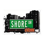 Shore Dr, Bronx, NYC  Mini Poster Print