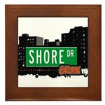 Shore Dr, Bronx, NYC  Framed Tile