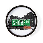 Shore Dr, Bronx, NYC  Wall Clock