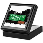 Shore Dr, Bronx, NYC  Keepsake Box