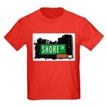 Shore Dr, Bronx, NYC  Kids Dark T-Shirt