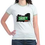 Shore Dr, Bronx, NYC  Jr. Ringer T-Shirt
