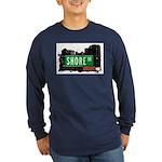 Shore Dr, Bronx, NYC  Long Sleeve Dark T-Shirt