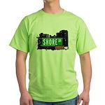 Shore Dr, Bronx, NYC  Green T-Shirt