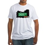 Shore Dr, Bronx, NYC  Fitted T-Shirt