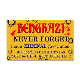Benghazi Car Magnet 20 x 12