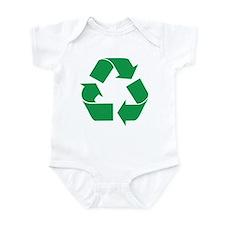 Green Recycle Infant Bodysuit