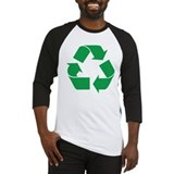 Green Recycle Baseball Jersey