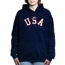 Vintage Team USA Hooded Sweatshirt