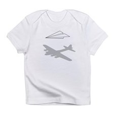 Paper Airplane Overactive Imagination Infant T-Shi