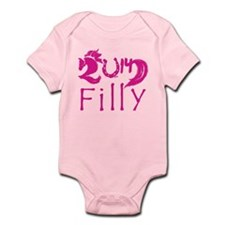 Filly 2014 Year Cute Baby Horse Infant Bodysuit