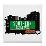 Southern Blvd, Bronx, NYC  Tile Coaster