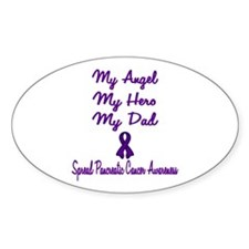 Cute Pancreatic cancer awareness Decal