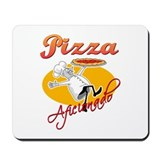 Pizza Aficionado Mousepad