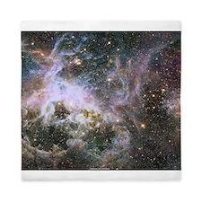 Cosmic Creepy-Crawly Tarantula Nebula Queen Duvet