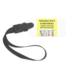 mahjong Luggage Tag