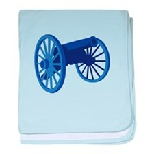 Civil War Cannon baby blanket