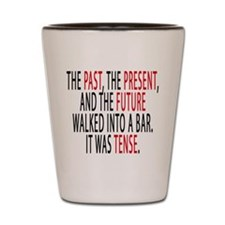 The Past, The Present, The Future Shot Glass