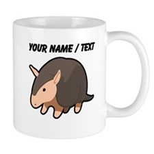 Custom Cartoon Armadillo Mugs
