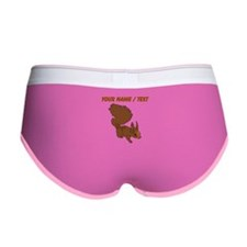 Custom Brown Squirrel Women's Boy Brief