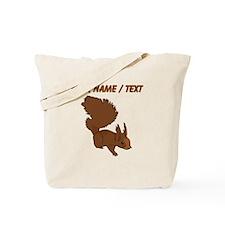 Custom Brown Squirrel Tote Bag