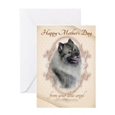 Funny Keeshond Mothers Day Cards