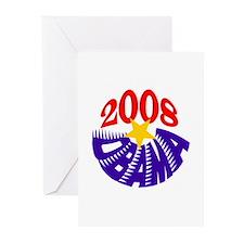 OBAMA 2008 Greeting Cards (Pk of 10)