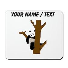 Custom Giant Panda In Tree Mousepad